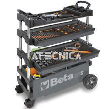 Carrello mobile portautensili Beta C27S-G grigio richiudibile trasportabile