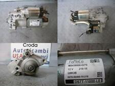 Motorino avviamento FORD KUGA MS4380000270