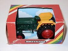 BRITAINS FARM #9420 FARM TRACTOR FORD 6600 IN ORIGINAL BOX 1/32 1980s ENGLAND