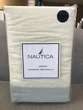 Nautica Aarondale Bed Skirt Full 100% Cotton