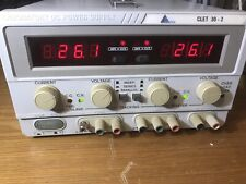 F Alimentatore  convergie clet 30-2 Power Supply X Oscilloscopio Multimetro