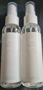 AVON 2 x PUR BLANCA FOR HER ~ PERFUMED BODY MISTS 100ml each ~  *BRAND NEW*