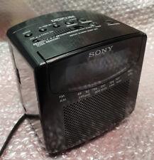Radiosveglia Vintage Sony Digicube ICF-C102 W AM/FM colore Nera