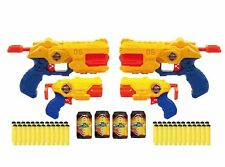 Back X-Shot Combo Pack Of 4 Toy gun Dartblaster Soft dart Revolver