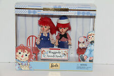 Barbie Raggedy Ann & Andy Kelly & Tommy Dolls 1St In Series Storybook Collection