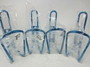 NOS Alloy Blue Bottle Cages Lot of 4 Bike Biking