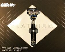 Gillette Platinum Collection Set with Limited Edition Power Razor