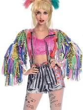 Adults Harley Quinn Fancy Dress Birds of Prey Jacket World Book Day Week Ladies