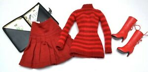 """Tonner BIG APPLE ROUGE PARTIAL OUTFIT for 16"""" Tyler & Friends"""