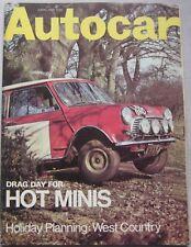 Autocar magazine 3 April 1969 Triumph GT6 road test, Opel GT