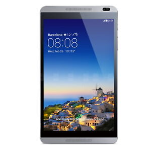 """Huawei MediaPad M1 Tablet 8GB Wi-Fi & Cellular 8"""" Titanium Grey Android Touch 1"""