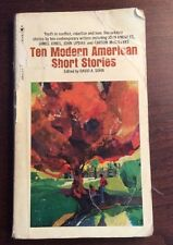 Ten Modern American Short Stories (1978,Softcover) David A Sohn PreOwnedBook.com