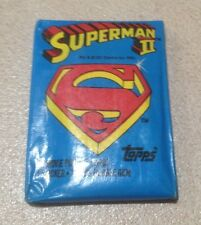 1980 Topps Superman (The Movie) II (2) - Wax Pack