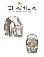 Autentico Chamilia argento 925 Disney Ih-Oh 14CT GOLD FIOCCO CHARM PERLINE, RARA