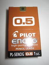 PILOT MINES POUR PORTE-MINES PL-3ENOG-B 0.5 mm PURE GRAPHITE B LOT BOITE DE 12