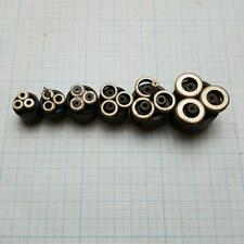 Thread Rolling Head Set - M1, M1.4, M1.6, M2, M2.5, M3 (6 pcs total)