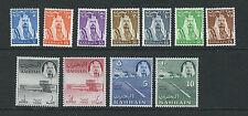 BAHRAIN 1964 definitives Sheikh al-Khalifa (SG 28-38 complete set) VF MNH