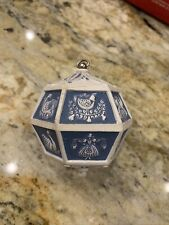 Wind Up 12 days of Christmas music ornament - 1983 musical