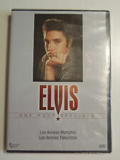 DVD ELVIS ONE HOURS SPECIALS ANNEES MEMPHIS ET TELEVISION PASSPORT VIDEO 2002