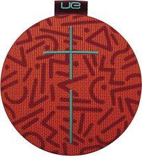 Logitech UE Roll Portable Bluetooth Speakers Orange Waterproof 9 HR Battery
