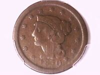 1850 Braided Hair Large Cent PCGS G 06 28236254