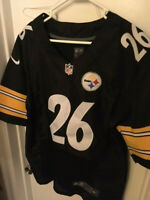 PITTSBURGH STEELERS NIKE LE'VEON BELL #26 JERSEY - ON FIELD - SIZE 40 - STITCHED