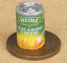 Échelle 1:12 vide Macaroni fromage Tin Dolls House Miniature peut Nourriture Accessoire sa