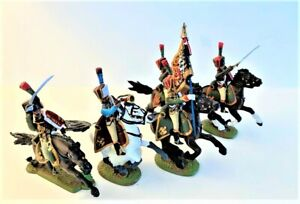 Mulberry Miniatures Napoleonic Chaussers A Cheval - Waterloo -  5 figures