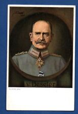 GERMANY GENERAL Hans Gartwig Beseler VINTAGE POSTCARD 244