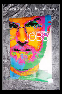GFA Job Steve Wozniak JOSH GAD Signed Full Size Movie Poster J1 COA