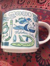 NEW In Box 2018 Starbucks MAUI Hawaii  Been There Series 14 Oz Ceramic Cup Mug
