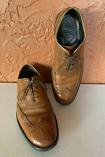 Mens Wolverine Wickham 1000 Mile Wingtip Oxford Shoes SZ 11 D Used W06482 Brown