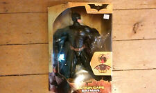 "Batman Begins Action Cape Batman 14"" Figure FSNIB Mattel c.2005 New in box"