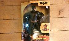 """Batman Begins Action Cape Batman 14"""" Figure FSNIB Mattel c.2005 New in box"""