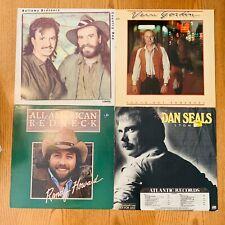 Country vinyl LP lot- Bellamy Brothers - Vern Gosdin - Randy Howard - Dan Seals