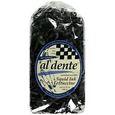 Al Dente Squid Ink Fettuccine Pasta, 12-Ounce Bag (Pack of 6)