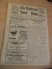 THE BATTERSEA BORO NEWS OLD ANTIQUE ORIG LONDON NEWSPAPER 29 may 1936 history