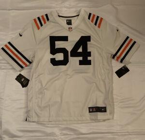Men's Chicago Bears Brian Urlacher #54 Nike Alternate Classic Game Jersey NWT XL