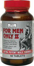 For Men Only II, Only Natural, 30 Tablet