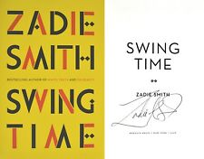 Zadie Smith~SIGNED IN PERSON~Swing Time~1st/1st+Photos! White Teeth ~ On Beauty