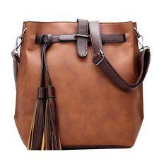 2018Women Leather Handbag Shoulder Bag Tote Purse Messenger Satchel Cross Body