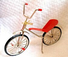 """Metal Retro Bicycle Bike Miniature Doll House Accessory or ornament 5 1/2"""""""