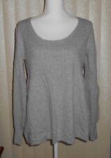apt. 9 Women's Size Large ~ Light Gray Sweater Long Sleeve Top GUC