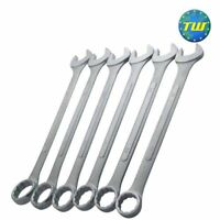 NEW Jumbo Spanner Set 33-50mm Large Steel Combination Wrench Spanners