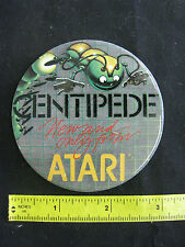 Vintage Centipede Atari Button Pin, Great Condition 3""