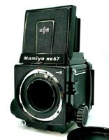 Mamiya rb67 pro S pros SLR Medium Format Camera Body w/120 film back from Japan