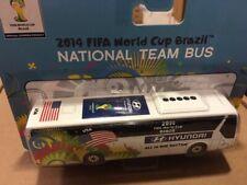2014 FIFA World Cup Brazil: USA National Team Bus HYUNDAI .