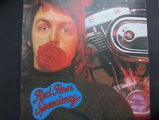 PAUL McCARTNEY / WINGS RED ROSE SPEEDWAY LP WITH BOOKLET IN GREAT NICK !