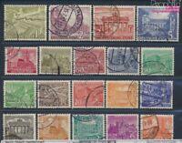 Berlin (West) 42-60 gestempelt 1949 Berliner Bauten (8641343