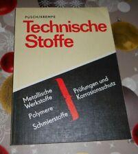 DDR  Technische Stoffe, Prüfungen und Korrosionsschutz  Fachbuch Lehrausbildung